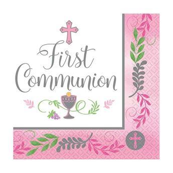 Imagens de Servilletas mi primera comunión rosa (36)