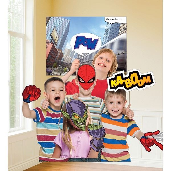 Picture of Accesorios photocall palito Spiderman (12)
