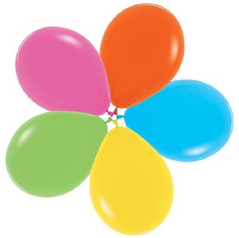 Picture of Globos Colores Tropical Fashion 30cm R12-001-12 (12)