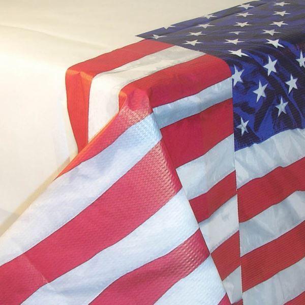 Imagens de Mantel bandera USA plástico