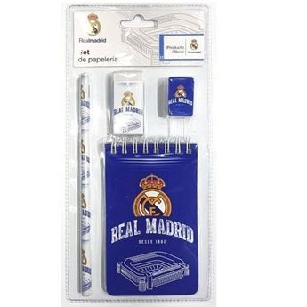 Imagens de Set papelería Real Madrid CF