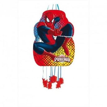 Imagens de Piñata Spiderman mediana