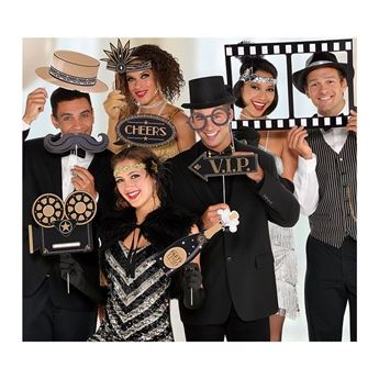 Imagens de Accesorios photocall palito Cine y Acción (12)