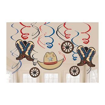 Imagen de Decorados espirales Vaquero Oeste (12)