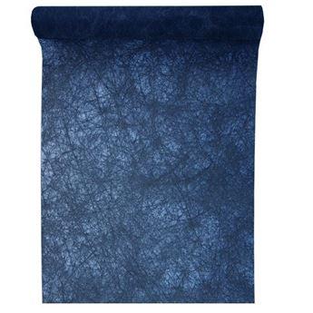 Imagen de Camino de mesa azul marino fanon (5m)