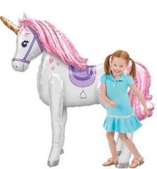 Imagen de Globo andante unicornio mágico