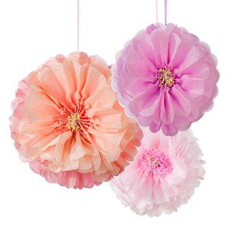 Imagen de Pompón flores (3)