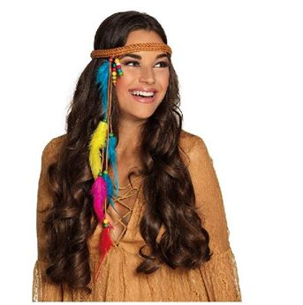 Picture of Diadema plumas hippie