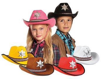 Picture of Sombrero vaquero infantil unisex