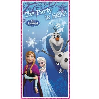 Picture of Decorado puerta Frozen Anna & Elsa