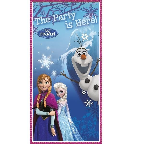 Picture of Decorado puerta Frozen Anna & Elsa