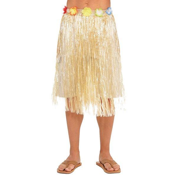 a3d87989ed Falda hawaiana unisex tono natural✅ por sólo 3