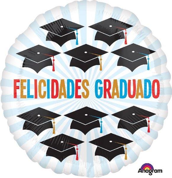 Picture of Globo Felicidades Graduado