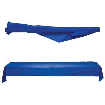 Imagen de Mantel en rollo plástico azul marino 30m