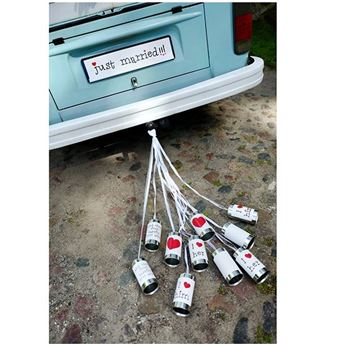 Picture of Pack de latas coche novios