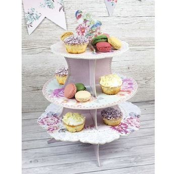 Imagen de Soporte tarta & cupcake romántico
