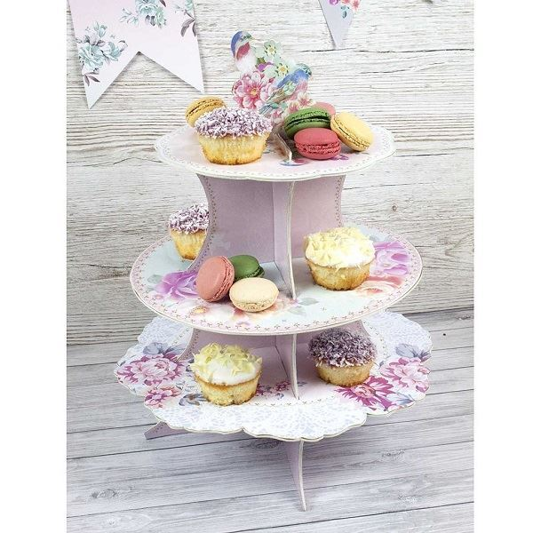 Imagens de Soporte tarta & cupcake romántico