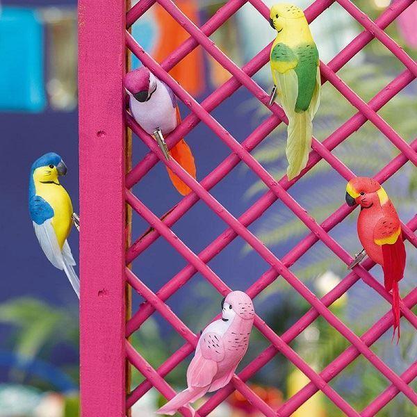 Imagens de Decoración Pajaritos Tropical (6)