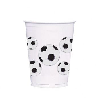 Imagen de Vasos fútbol plástico 414ml (8)