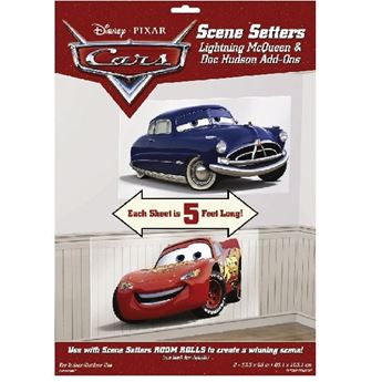 Picture of Decorados pared Rayo McQueen y Doc Hudson