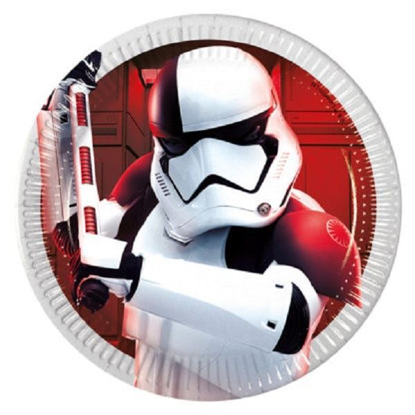 Imagen de Platos Star Wars Último Jedi soldado imperial pequeños (8)