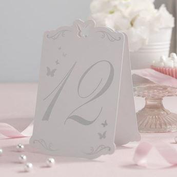 Picture of Números mesa del 1 al 12 Mariposa