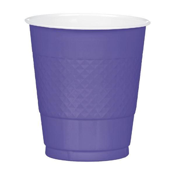 Picture of Vasos morado claro plástico (10)