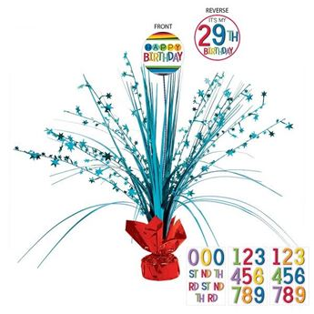 Imagen de Centro de mesa multicolor personalizable