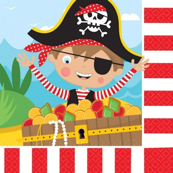 Imagen de Servilletas mi pequeño pirata (16)