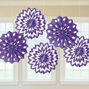 Picture of Decorados abanicos original morado (5)