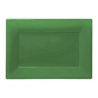 Picture of Bandejas verdes plástico (3)