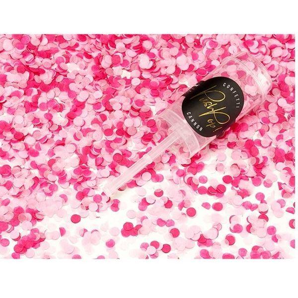 Imagens de Mini lanzador Push pop rosa