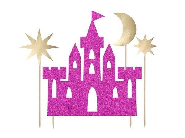 Picture of Topper tarta castillo princesa