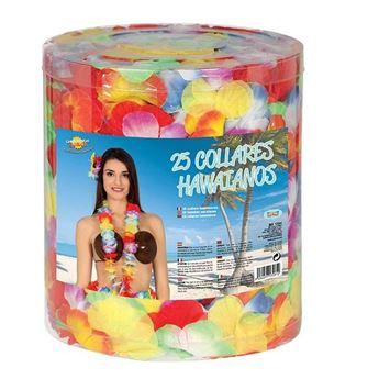 Imagens de Leis hawaianos tela colores surtidos (25)