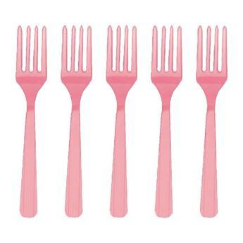 Imagen de Tenedores rosa pastel (10)