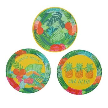 Picture of Platos Floral tropical MINI (12)