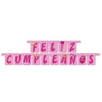 Picture of Guirnalda letras Feliz Cumpleaños Princess