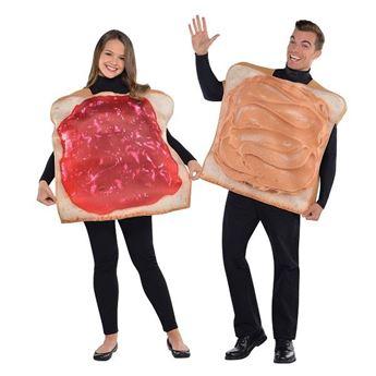 Imagen de Disfraz Tostadas pareja (Talla Estándar)