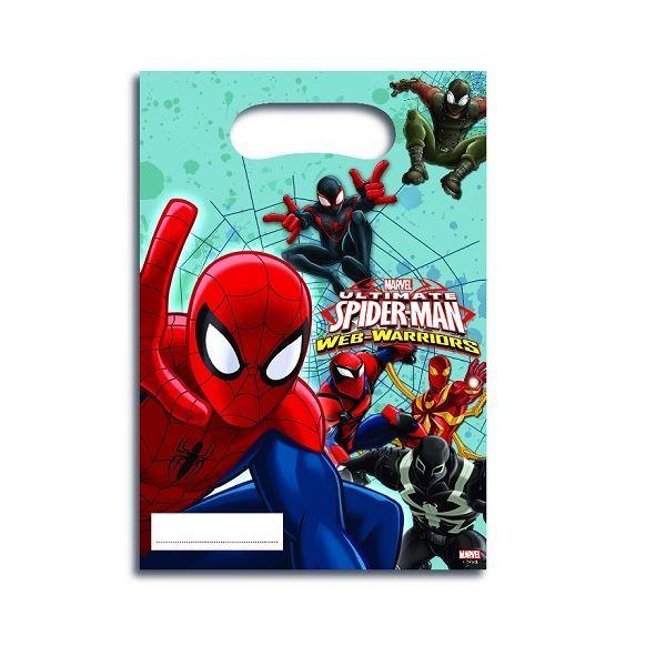 Imagen de Bolsas Spiderman warrior (6)