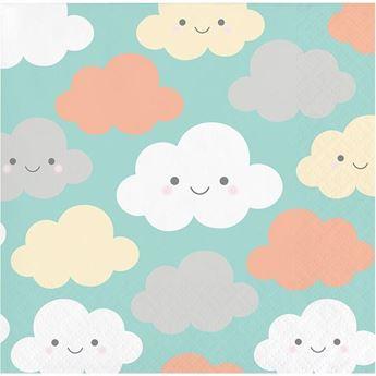 Imagen de Servilletas Nubes dulces pequeña (16)