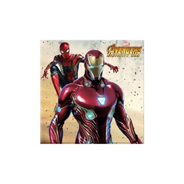 Imagens de Servilletas Vengadores Infinity War (20)