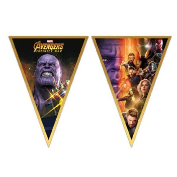 Banderin Vengadores Infinity War Por Solo 2 60 Tienda Online