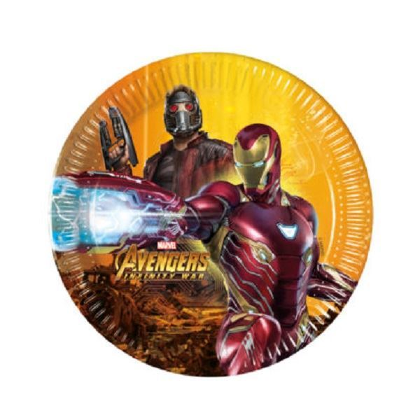 Picture of Platos Vengadores Infinity War pequeños (8)