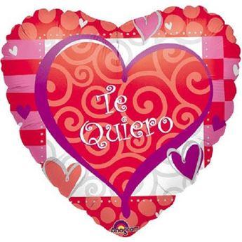Imagens de Globo Te quiero rojo y rosa