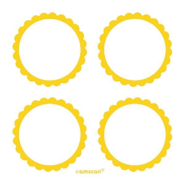 Imagen de Etiquetas adhesivas amarillas (20)