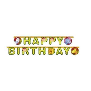 Imagen de Banner Happy Birthday Animales
