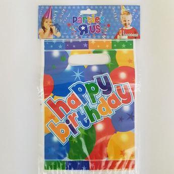 Imagen de Bolsas Happy Birthday colores (8)