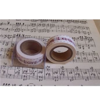 Imagen de Washi tape Live Laugh Love