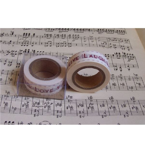 Picture of Washi tape Live Laugh Love