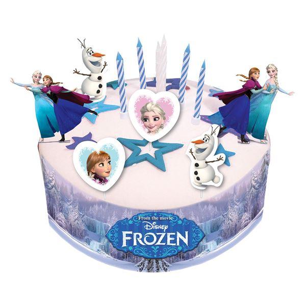 Imagens de Topper decoración tarta Frozen